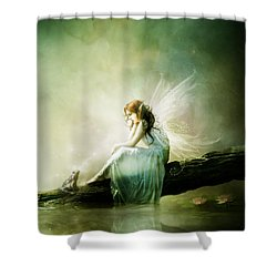 Best Of Friends Shower Curtain by Mary Hood