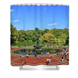 Bethesda fountain central park 3 photograph by allen beatty for 100 overlook terrace new york ny