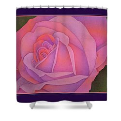 Beyond The Wall Shower Curtain by Jane Alexander
