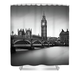 Big Ben Shower Curtain by Ivo Kerssemakers