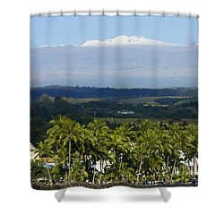 Big Island, Hilo Bay Shower Curtain by Ron Dahlquist - Printscapes