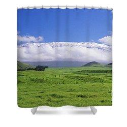 Big Island, Waimea Shower Curtain by Peter French - Printscapes