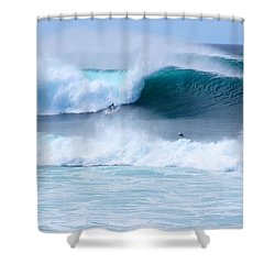 Big Pipeline Pro Shower Curtain by Kevin Smith