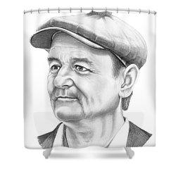 Bill Murray Shower Curtain by Murphy Elliott