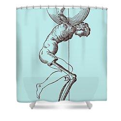 Biomechanics Shower Curtain by Science Source