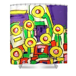 Blame It On The Bossa Nova Shower Curtain by Tim Ross