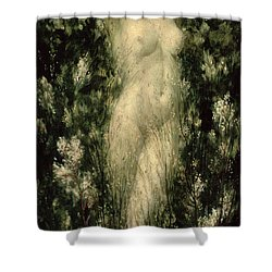 Blodeuwedd Shower Curtain by Christopher Williams