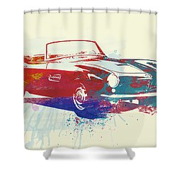 Bmw 507 Shower Curtain by Naxart Studio