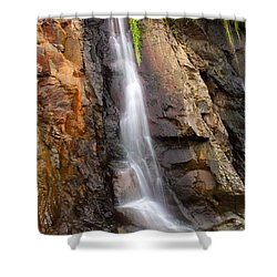 Boiler Bay Cascade Shower Curtain by Mike  Dawson