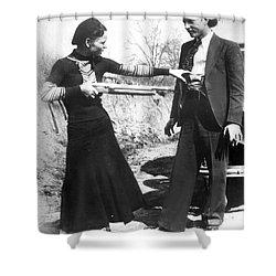 Bonnie And Clyde, 1933 Shower Curtain by Granger