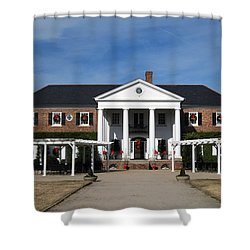 Boone Hall Plantation Charleston Sc Shower Curtain by Susanne Van Hulst