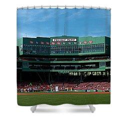 Boston's Gem Shower Curtain by Paul Mangold