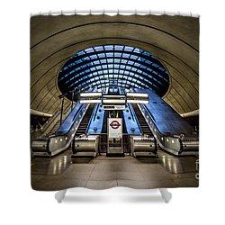 Bound For The Underground Shower Curtain by Evelina Kremsdorf