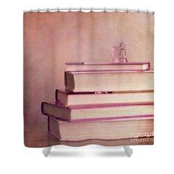 Brain Stuff Shower Curtain by Priska Wettstein