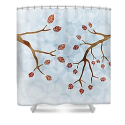 Branches Shower Curtain by Frank Tschakert