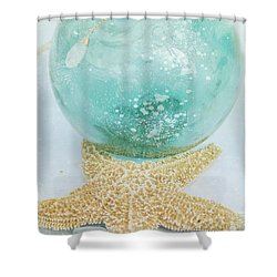 Breathe  . . .   Like Water Shower Curtain by Sharon Mau