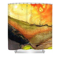 Bridging The Gap Shower Curtain by Sharon Cummings