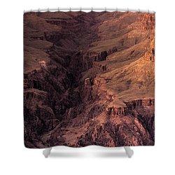 Bright Angel Canyon Grand Canyon National Park Shower Curtain by Steve Gadomski