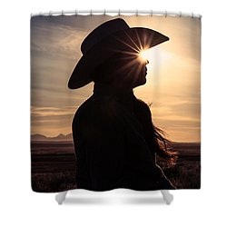 Bright Eyes Shower Curtain by Todd Klassy