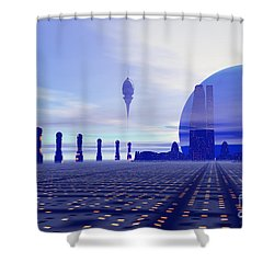 Brighthaven 12 Shower Curtain by Corey Ford