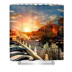 Brush Creek Kansas City Missouri Shower Curtain by Liane Wright