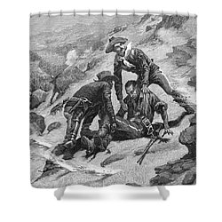 Buffalo Soldier, 1886 Shower Curtain by Granger