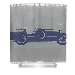 Bugatti Type 35 Shower Curtain by Naxart Studio