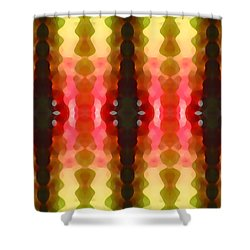 Cactus Vibrations 2 Shower Curtain by Amy Vangsgard