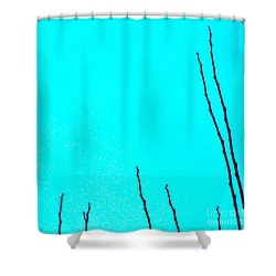 California Like Danmark Shower Curtain by CML Brown