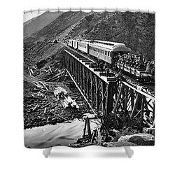 California: Railroad, 1869 Shower Curtain by Granger