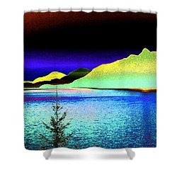 Call Of The Coast Shower Curtain by Will Borden