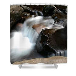 Calming Water Shower Curtain by Jeff Swan