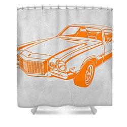 Camaro Shower Curtain by Naxart Studio