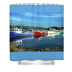 Shower Curtain featuring the photograph Cape Breton Island by Rodney Campbell