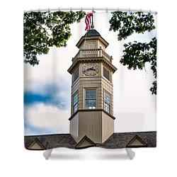 Capitol Time Shower Curtain by Christopher Holmes