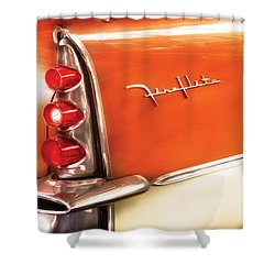 Car - The Wing Shower Curtain by Mike Savad