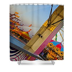 Carnival 1 Shower Curtain by Skip Hunt