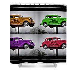 Cars Shower Curtain by Joan Carroll