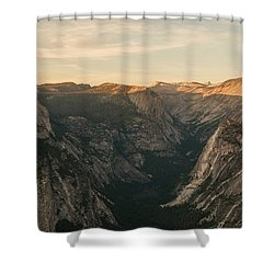 Carved Beauty Shower Curtain by Kristopher Schoenleber