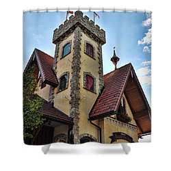 Castle Frankenmuth Shower Curtain by Chris Fleming