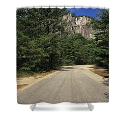 Cathedral Ledge State Park - Conway New Hampshire Usa Shower Curtain by Erin Paul Donovan