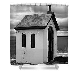 Catholic Chapel Shower Curtain by Gaspar Avila
