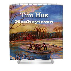 Cd Cover Commission Art Shower Curtain by Carole Spandau