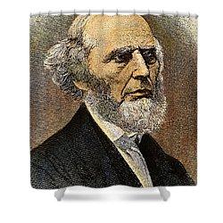 Charles Grandison Finney Shower Curtain by Granger