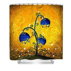 Charmed September Shower Curtain by Cindy Thornton