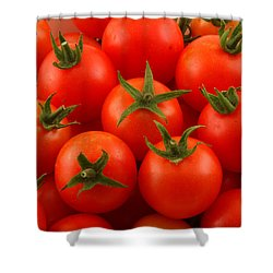 Cherry Tomatoes Fine Art Food Photography Shower Curtain by James BO  Insogna