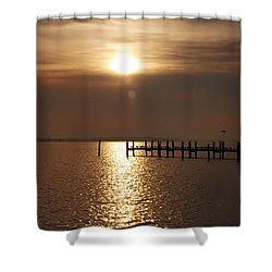 Chesapeake Morning Shower Curtain by Bill Cannon