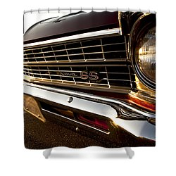 Chevy Nova Ss Shower Curtain by Cale Best