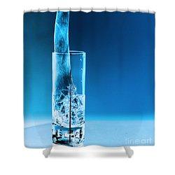Chicago Bar Shower Curtain by Amanda Barcon