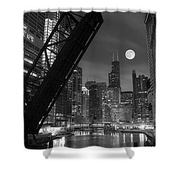 Chicago Pride Of Illinois Shower Curtain by Frozen in Time Fine Art Photography